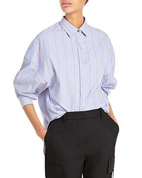 3.1 Phillip Lim - Striped Button Up Shirt