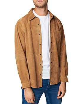 BLANKNYC - Leather Shirt Jacket