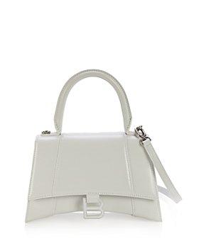 Balenciaga - Hourglass Small Leather Top Handle Bag