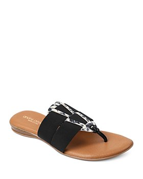 Andre Assous - Women's Elise Featherweights™ Embellished Thong Sandals