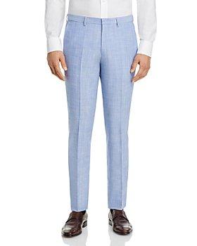 HUGO - Hesten Melange Solid Extra Slim Fit Suit Pants