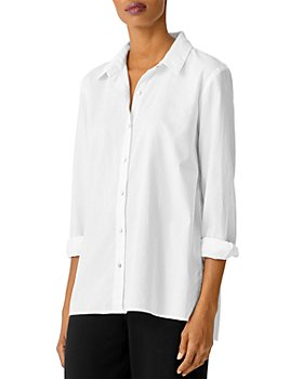 Eileen Fisher - Classic Collared Shirt