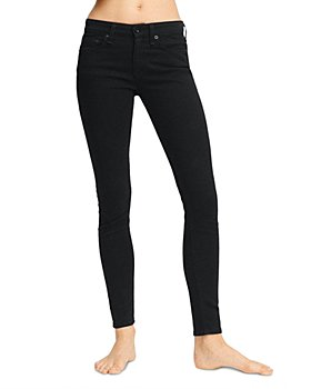 rag & bone - Cate Mid Rise Ankle Skinny Jeans in Black