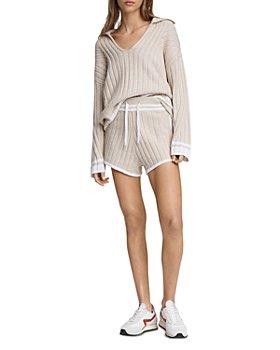 rag & bone - Serena Ribbed Sweater & Shorts