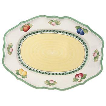 "Villeroy & Boch - ""French Garden"" Fleurence Platter, 17.25"""