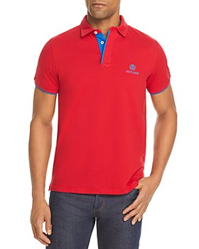 Roberto Cavalli - Contrast Placket Relaxed Fit Polo Shirt (85% off) - Comparable value $325
