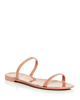 Stuart Weitzman - Women's Sawyer Almond Toe Jelly Sandals