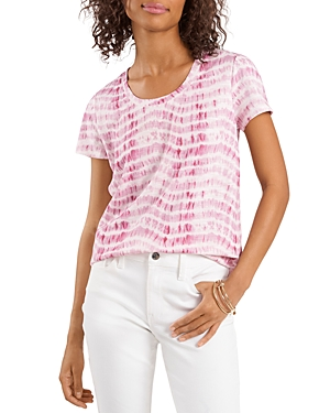 Vince Camuto T-shirts SANDY WAVES TIE DYE TEE