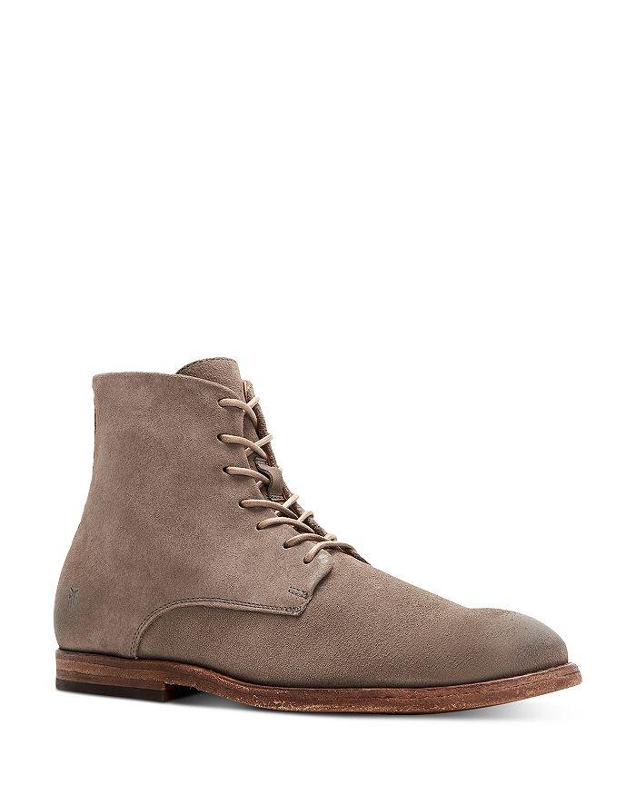 Frye - Men's Chris Side Zip Lace Up Boots