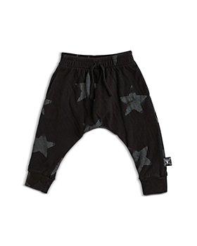 NUNUNU - Unisex Cotton Star Jogger Pants - Baby