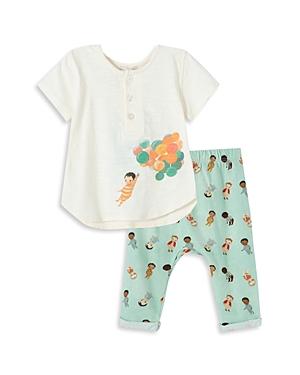 Peek X Dreamworld Girls' Balloons Top & Pants Set - Baby
