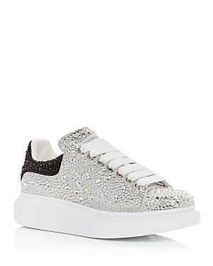 Alexander McQUEEN Women's Oversized Crystal Low Top Sneakers