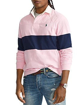 Polo Ralph Lauren - Classic Fit Chest Striped Jersey Rugby Shirt - 100% Exclusive