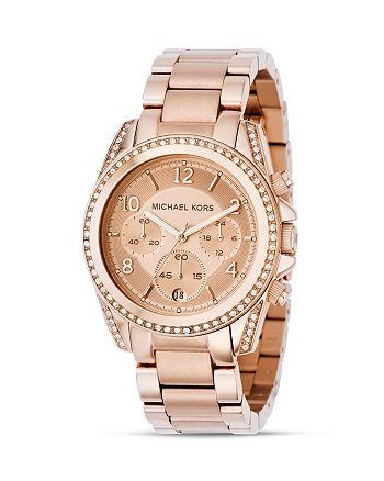 Michael Kors - Rose Gold–Tone Watch, 39mm
