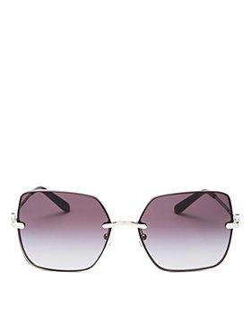 Tory Burch - Women's Square Sunglasses, 58mm