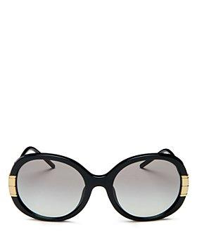 Tory Burch - Women's Round Sunglasses, 57mm
