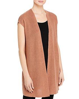 Eileen Fisher - Long Cardigan Vest
