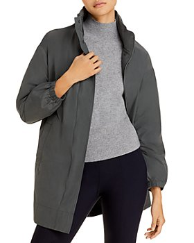 Eileen Fisher - Long Hooded Coat