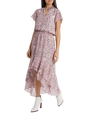 1.state HIGH/LOW FLOUNCE DRESS