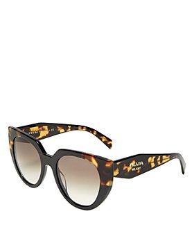 Prada - Women's Cat Eye Sunglasses, 52mm