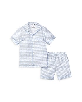 Petite Plume - Unisex La Mer Sleep Shorts Set - Baby, Little Kid, Big Kid