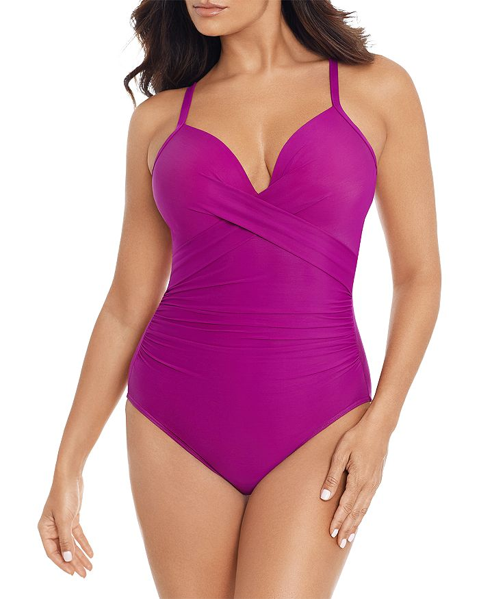 Miraclesuit One-pieces ROCK SOLID CAPTIVATE UNDERWIRE ONE PIECE SWIMSUIT