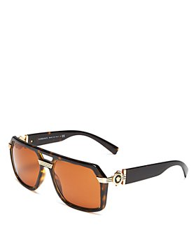 Versace - Men's Brow Bar Square Sunglasses, 58mm