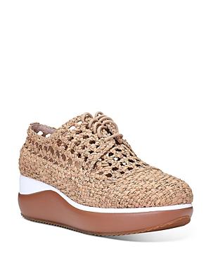 Women's Lillo Woven Cork Platform Sneakers