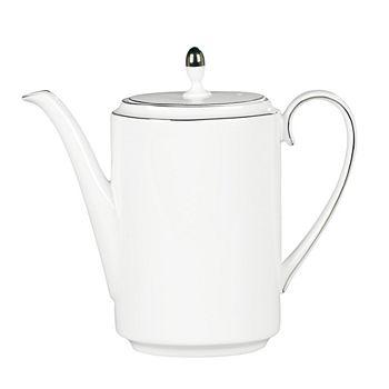 "Vera Wang - for Wedgwood ""Blanc Sur Blanc"" Coffee Pot"