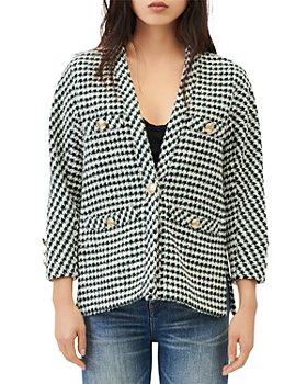 Maje - Vip Cardigan Style Tweed Jacket