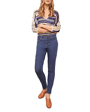 Mona Cigarette Jeans in Blue