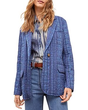 Arya Cotton Tailored Blazer
