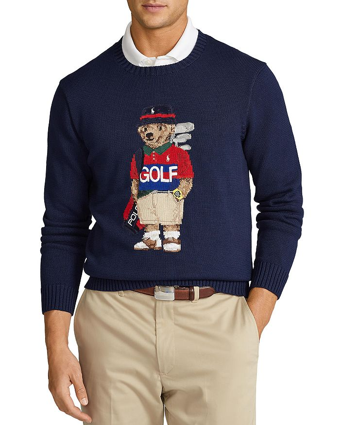 Polo Ralph Lauren - Golf Polo Bear Crewneck Sweater