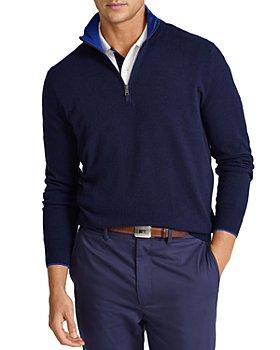 Polo Ralph Lauren - Washable Quarter Zip Cashmere Sweater