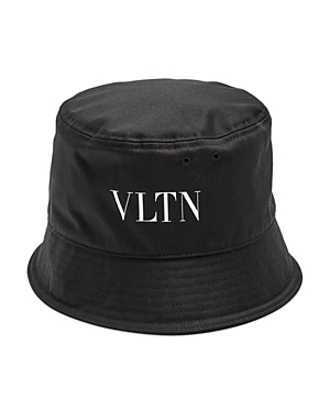 Valentino LOGO CANVAS BUCKET HAT