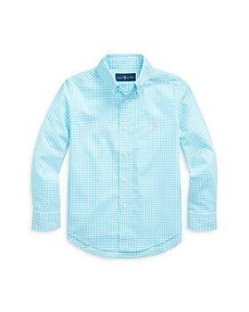 Ralph Lauren - Boys' Gingham Button Down Shirt - Little Kid