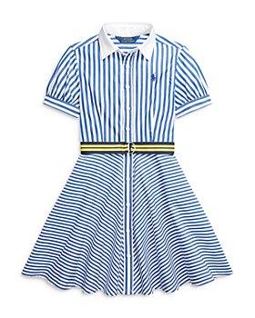 Ralph Lauren - Girls' Mixed Stripe Dress - Little Kid, Big Kid
