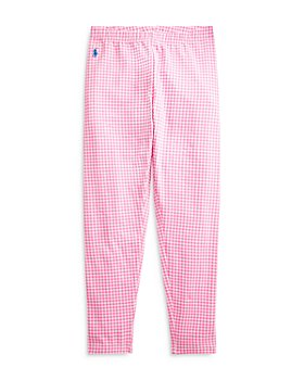 Ralph Lauren - Girls' Gingham Leggings - Little Kid, Big Kid