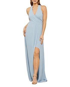 BCBGMAXAZRIA - Eve Crossover Maxi Dress