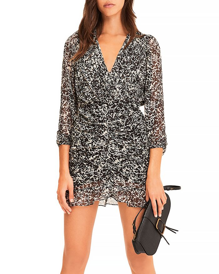 Ba&sh Mini dresses BA & SH EZRA PRINTED MINI DRESS