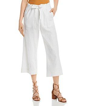 Single Thread - Tie Front Crop Pants