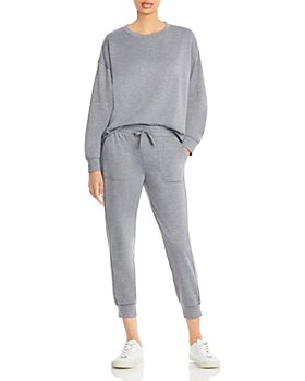 Splendid - Eco Sweatshirt and Knit Jogger Pants