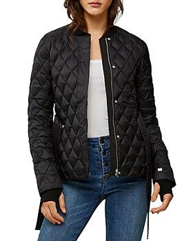 Soia & Kyo - Elsie Lightweight Belted Puffer Jacket