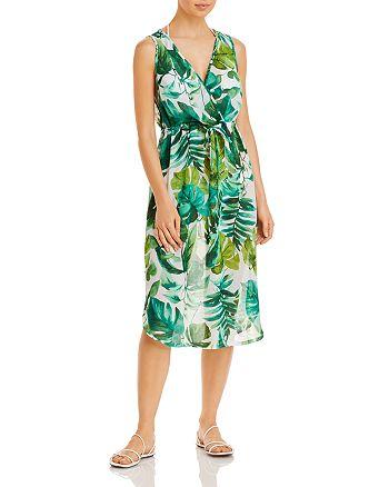 J. Valdi - Palms Midi Dress Swim Coverup