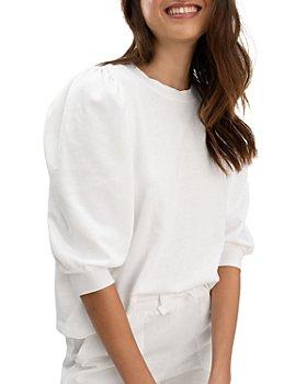 Splendid - Mariposa Puff Sleeve Sweatshirt