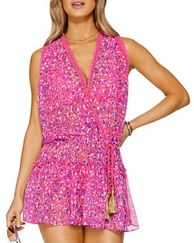 Ramy Brook - Donica Printed Cover Up Dress