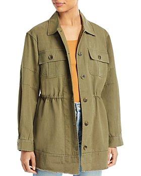 Avec Les Filles - Cotton Military Jacket