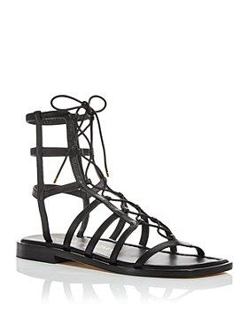Stuart Weitzman - Women's Kora Lace Up Gladiator Sandals
