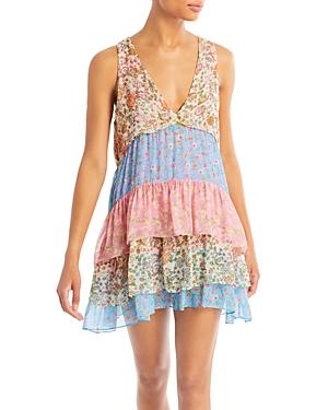 Ramy Brook Mini dresses GIGI MIXED FLORAL PRINT MINI DRESS