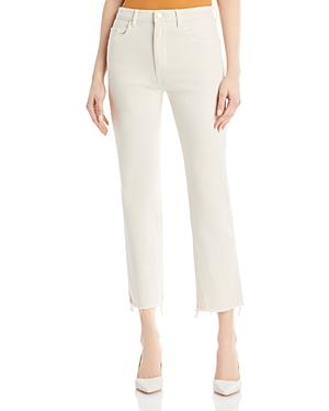 1961 Patti High Rise Straight Jeans in Ecru